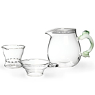 Набор из жаропрочного стекла для заваривания чая «Весна»