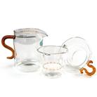Набор из жаропрочного стекла для заваривания чая «Осень»