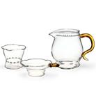 Набор из жаропрочного стекла для заваривания чая «Осень» большой