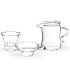 Набор из жаропрочного стекла для заваривания чая«Classic» малый