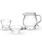 Набор из жаропрочного стекла для заваривания чая «Classic»
