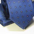 Набор Aristokrat галстук с платком синего цвета с квадратами
