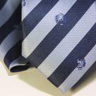 Набор Aristokrat галстук с платком с косыми полосами