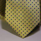 Набор Aristokrat галстук с платком золотого цвета