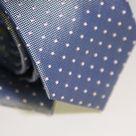 Набор Aristokrat галстук с платком темно-сиреневого цвета с квадратным фактурным рисунком