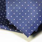 Набор Aristokrat галстук с платком элегантный синего цвета