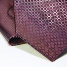 Набор Aristokrat галстук с платком малинового цвета