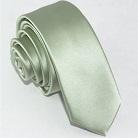 Узкий галстук мятного цвета
